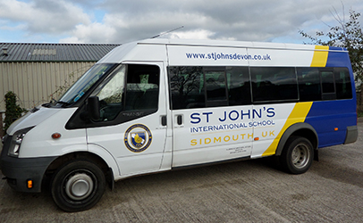 honiton vehilce graphics - exeter vehicle graphics - sidmouth vehicle graphics