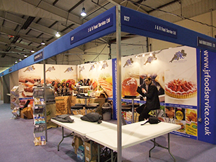 Trade show stands exeter devon