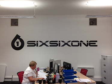 Wall graphics Ottery