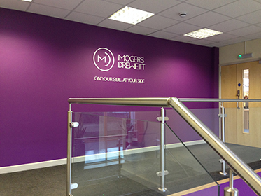 Wall graphics Exeter